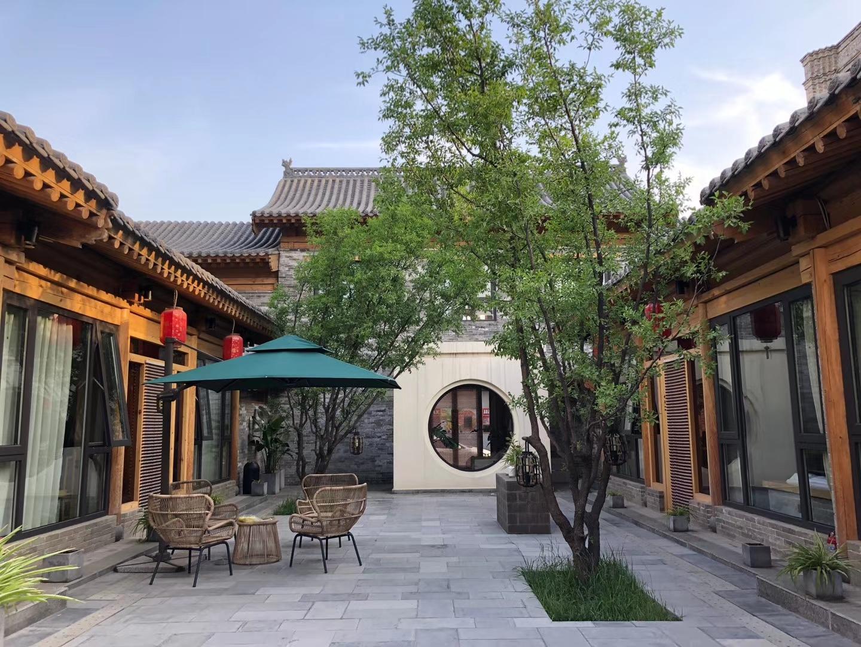新中式四合院