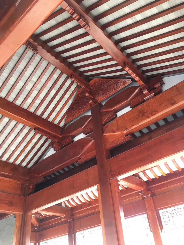 樓頂中式仿古建筑